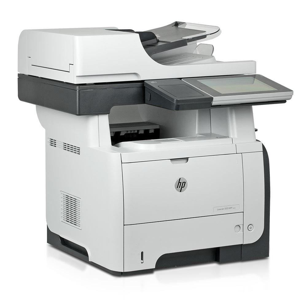 hp laserjet 500 mfp m525f aio drucker 1200dpi 1gb ram 320gb scanner fax kopierer ebay. Black Bedroom Furniture Sets. Home Design Ideas