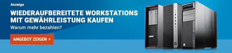 Jetzt gebrauchte Workstations bei Harlander.com kaufen