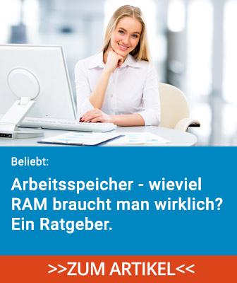 Wieviel RAM Arbeitsspeicher braucht man im Jahr 2021?