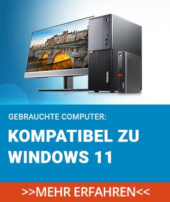 Gebrauchte PCs, die zu Windows 11 kompatibel sind, gibt es bei Harlander.com