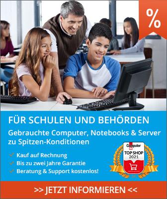 Computer und Notebooks für Schulen günstig mit Garantie