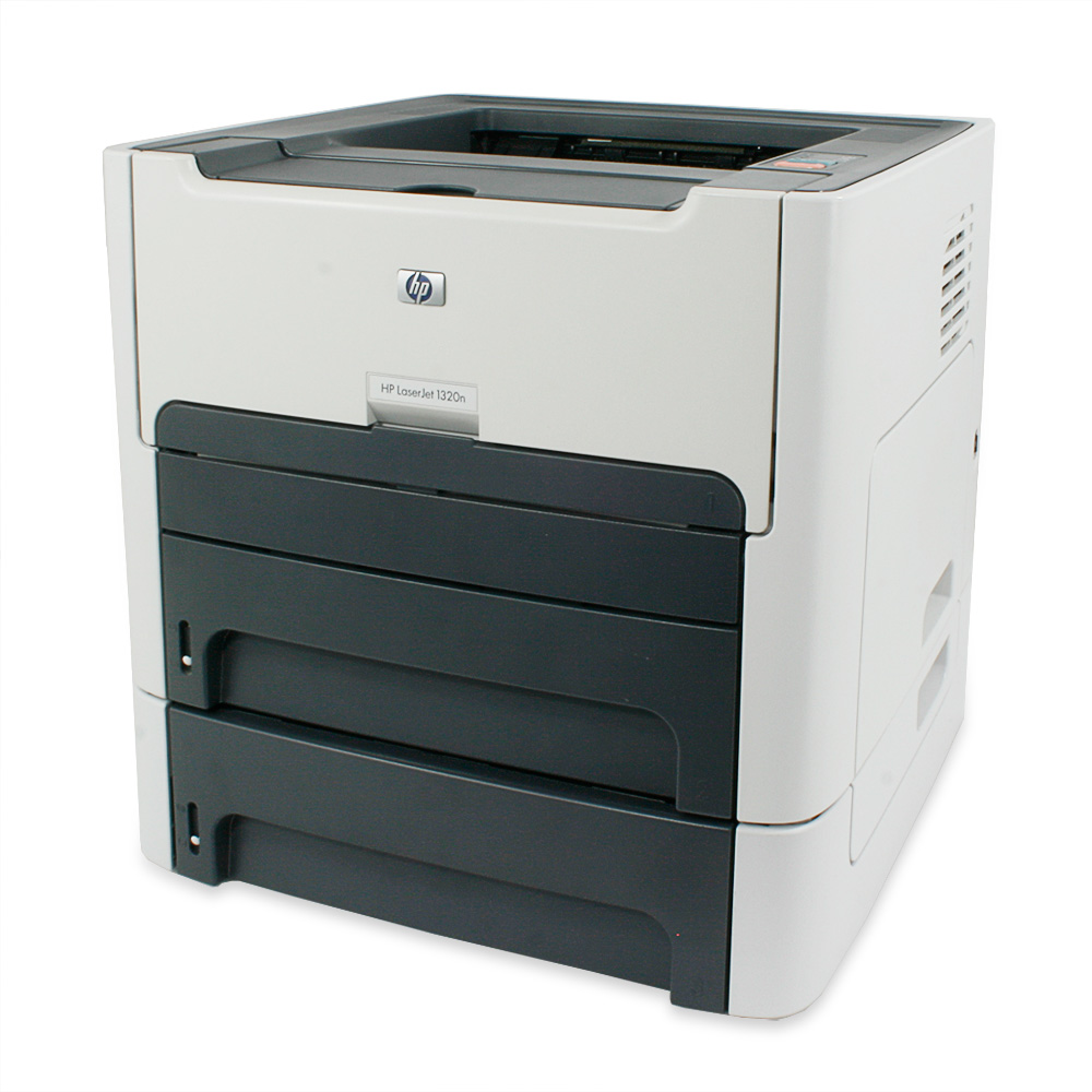 hp laserjet 1320 workgroup laser network printer double. Black Bedroom Furniture Sets. Home Design Ideas
