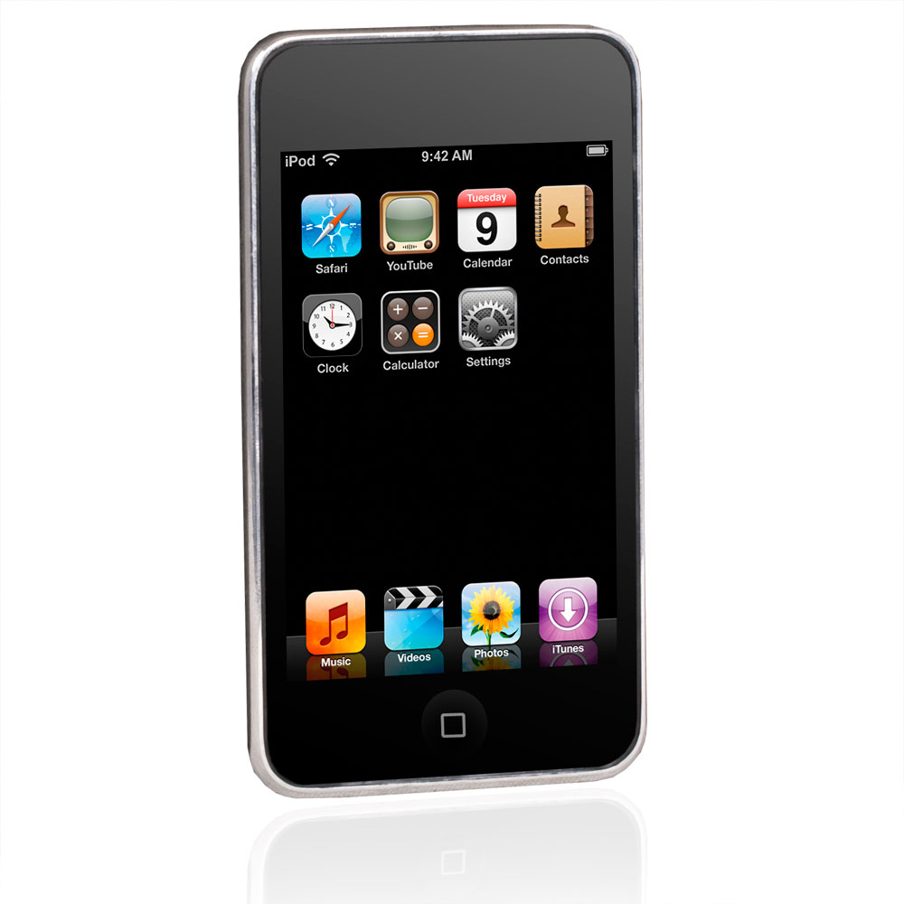 apple ipod touch 3 generation silber 8gb ebay. Black Bedroom Furniture Sets. Home Design Ideas
