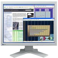 Beitragsbild: Immer richtig im Bilde, der EIZO FlexScan L997 21,3 Zoll TFT Monitor