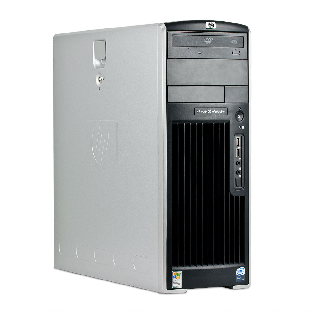 HP-XW6400-2x-Quad-Core-2-33GHz-4096MB-250GB-COMBO-Quadro-FX-1700-Workstation
