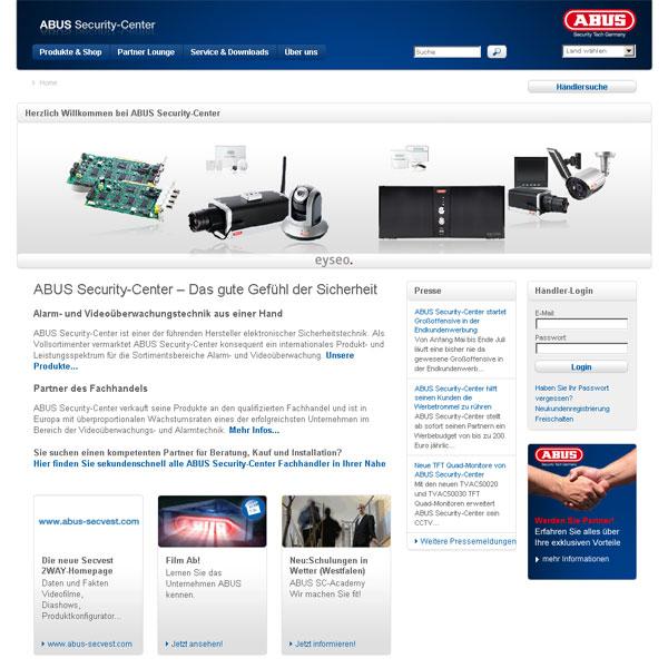 Beitragsbild: Sicherheit hat eine Homepage
