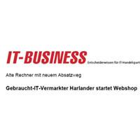 Beitragsbild: 23. Februar 2007 Gebraucht-IT-Vermarkter Harlander startet Webshop