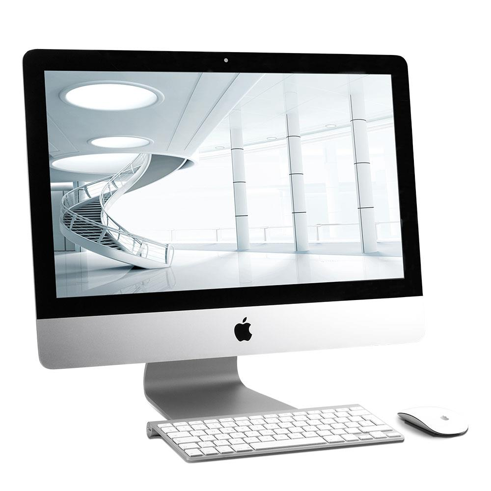 apple imac 21 5 late 2012 aio gebraucht aa3 intel core i5 2 7 ghz. Black Bedroom Furniture Sets. Home Design Ideas
