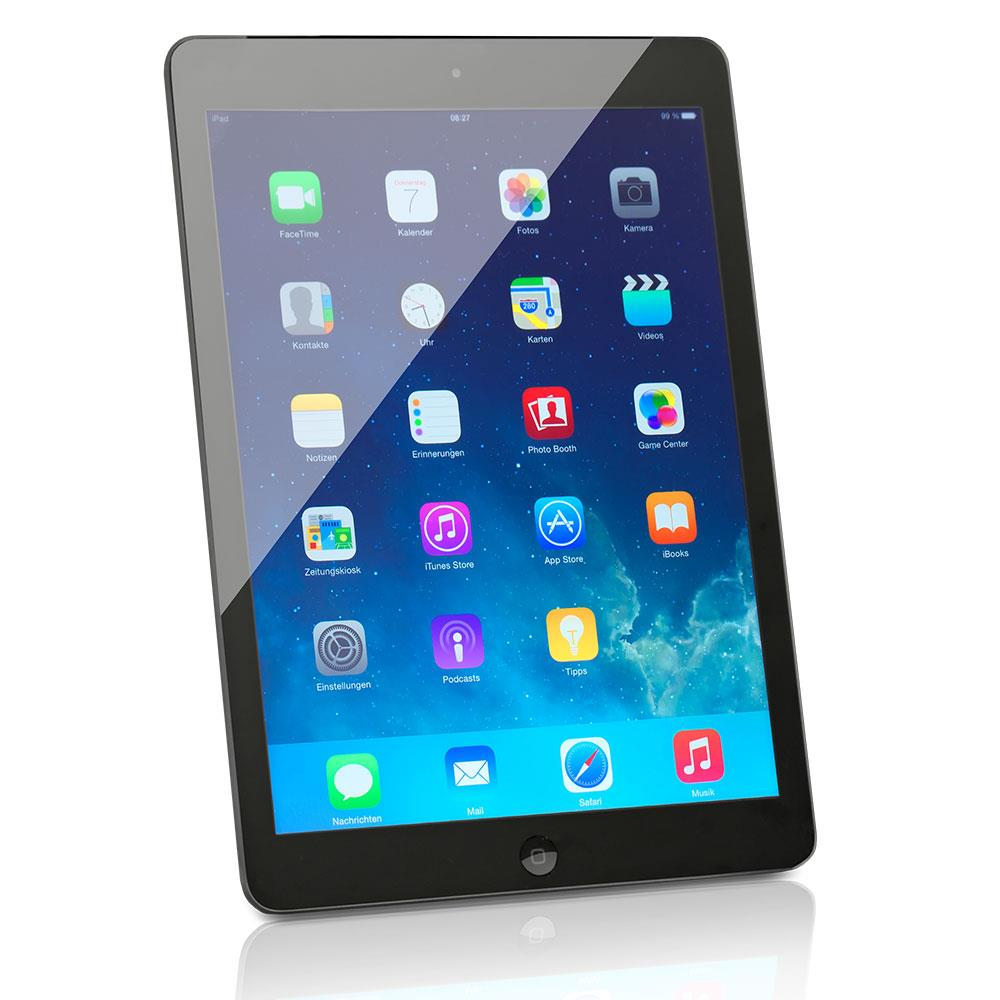 apple ipad air gebraucht tsa2 tablet 64 gb spacegrau ios. Black Bedroom Furniture Sets. Home Design Ideas