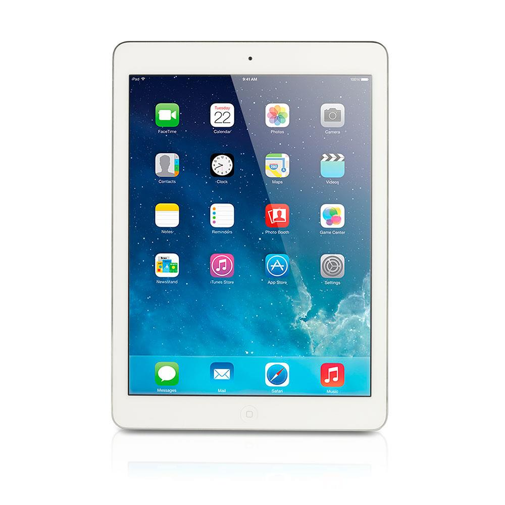 apple ipad air gebraucht aa2 tablet 16 gb silber ios. Black Bedroom Furniture Sets. Home Design Ideas