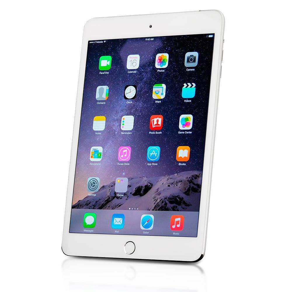 apple ipad mini 3 gebraucht tsb1 tablet 16 gb silber ios. Black Bedroom Furniture Sets. Home Design Ideas