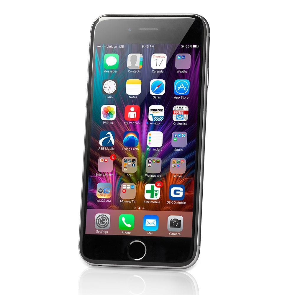 apple iphone 6s gebraucht tsa4 smartphone 128 gb spacegrau ios. Black Bedroom Furniture Sets. Home Design Ideas