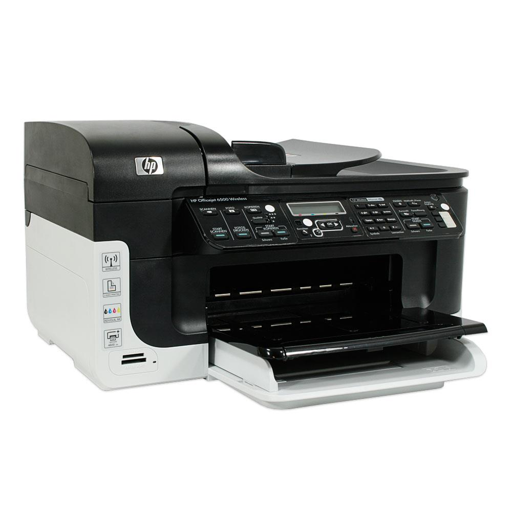 hp officejet 6500 wireless aio drucker 64mb 10015316. Black Bedroom Furniture Sets. Home Design Ideas