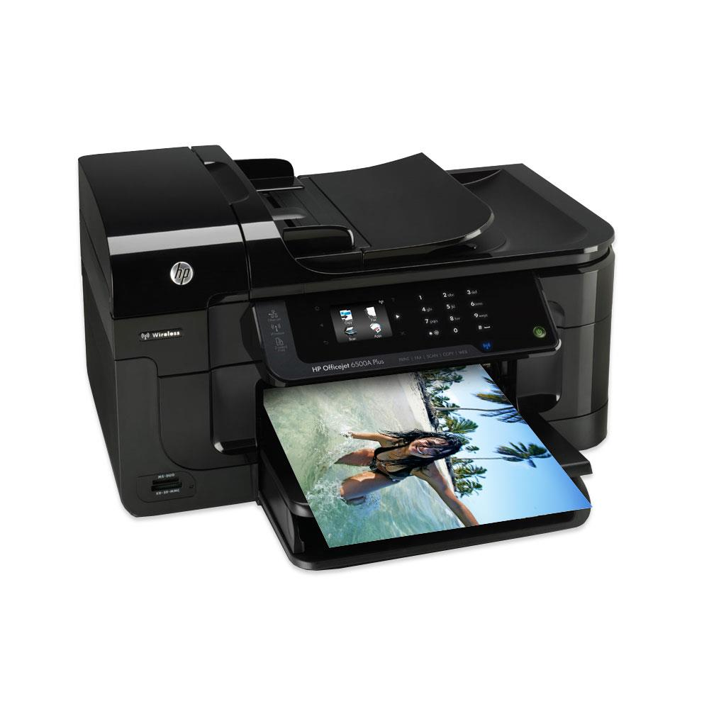 hp officejet 6500a plus aio drucker wireless 10015846. Black Bedroom Furniture Sets. Home Design Ideas