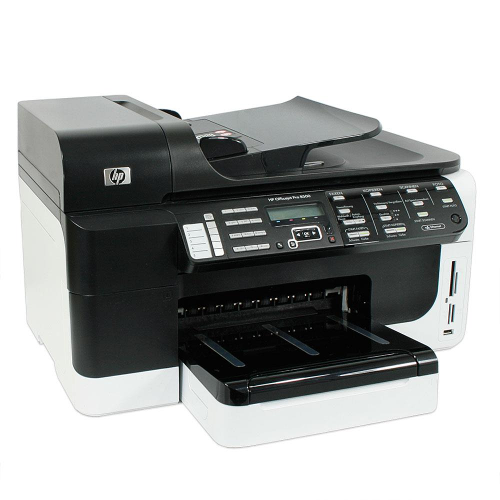 hp officejet pro 8500 aio tintenstrahldrucker 10011960. Black Bedroom Furniture Sets. Home Design Ideas