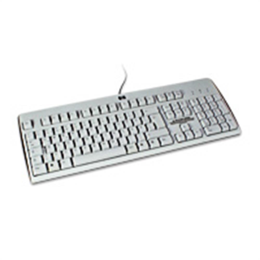 hp ku 0316 pc tastatur usb deutsch grau 10048720. Black Bedroom Furniture Sets. Home Design Ideas