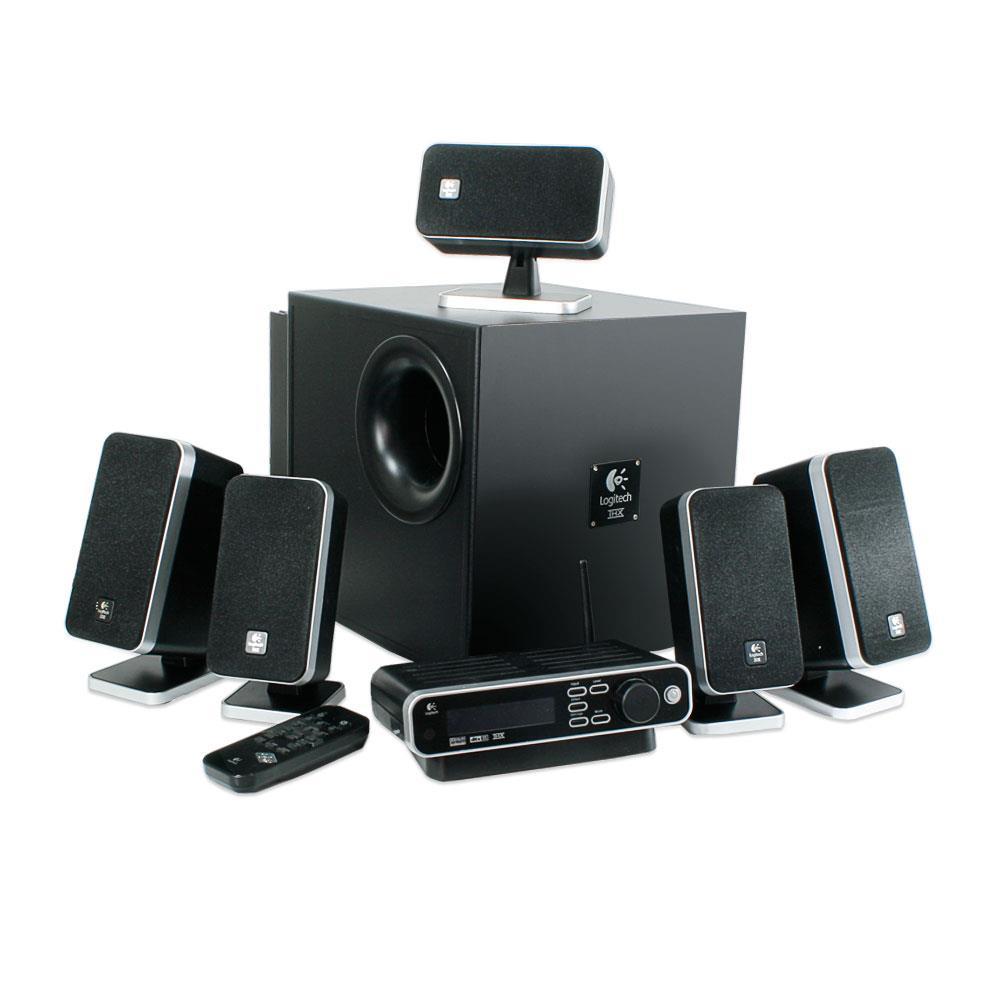 logitech z 5450 5 1 thx lautsprecher wireless 10014511. Black Bedroom Furniture Sets. Home Design Ideas