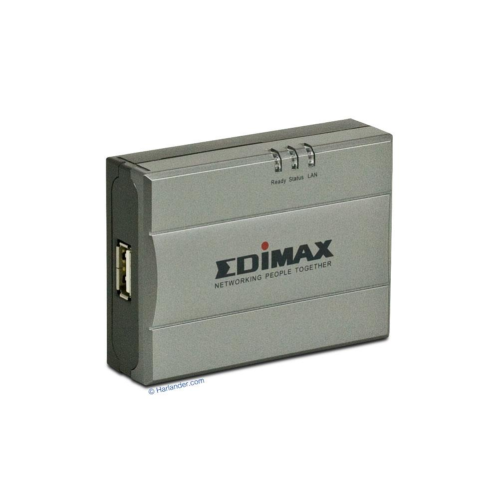 Edimax PS-1208MFg Printer Server Windows 7