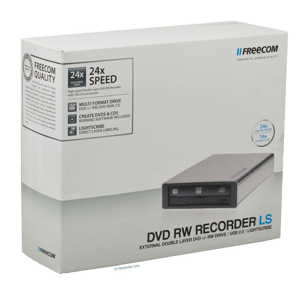 FREECOM DVDRW RECORDER DRIVER FOR WINDOWS 8