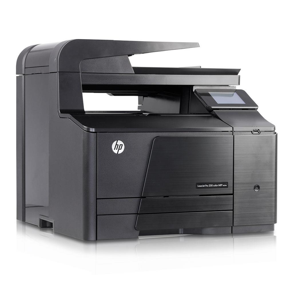HP LaserJet Pro 200 M276nw e-All-in-One Farblaser Multifunktionsdrucker A4, Drucker, Scanner, Kopierer, Wlan, Ethernet, USB, 600x600