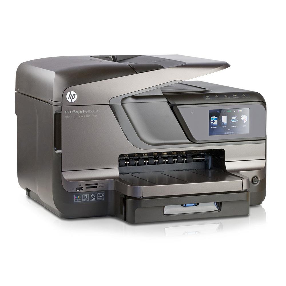 hp officejet pro 8600 plus all in one tintenstrahldrucker scannen kopieren faxen usb lan wlan. Black Bedroom Furniture Sets. Home Design Ideas