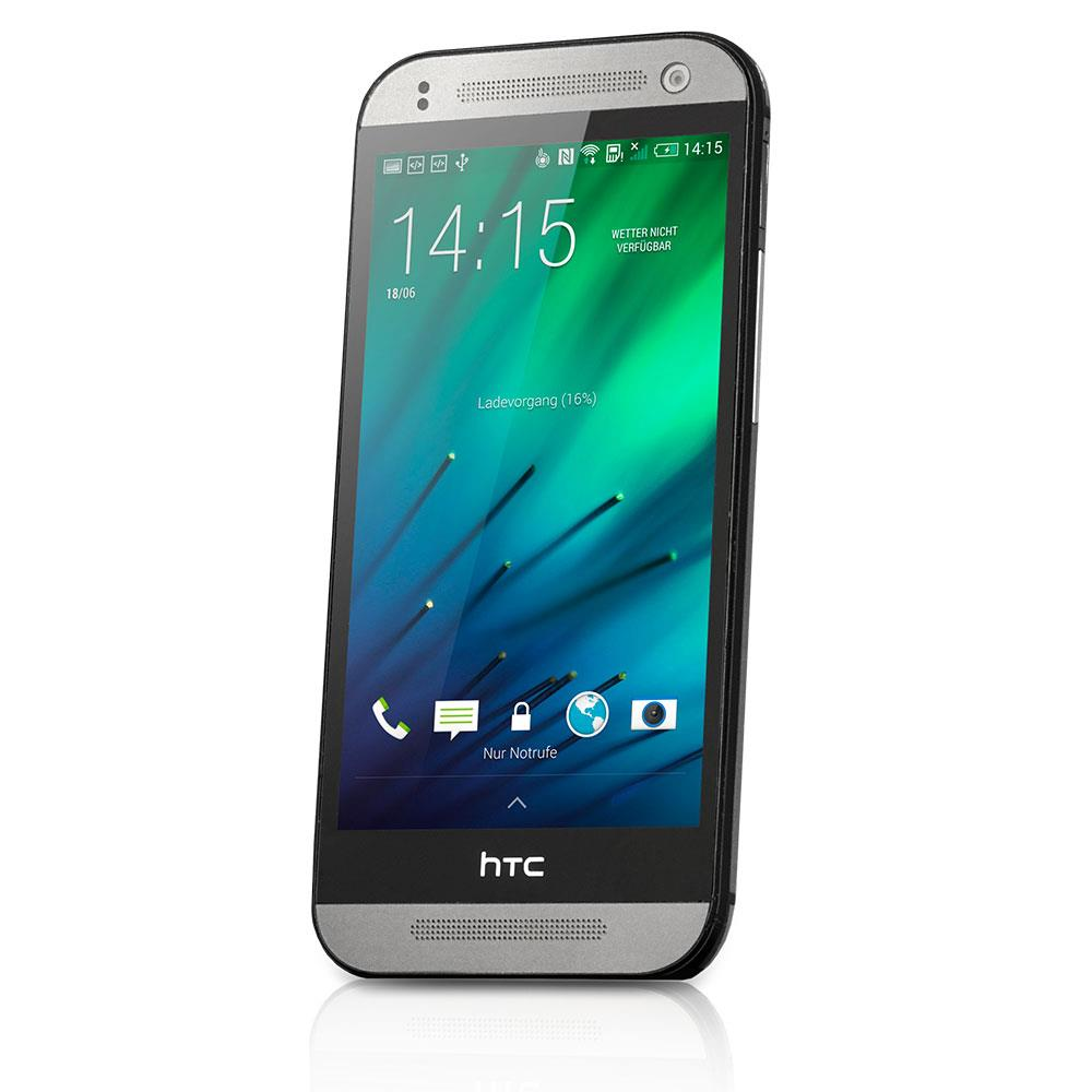 htc one mini 2 gebraucht tsa3 smartphone 16 gb grau android. Black Bedroom Furniture Sets. Home Design Ideas