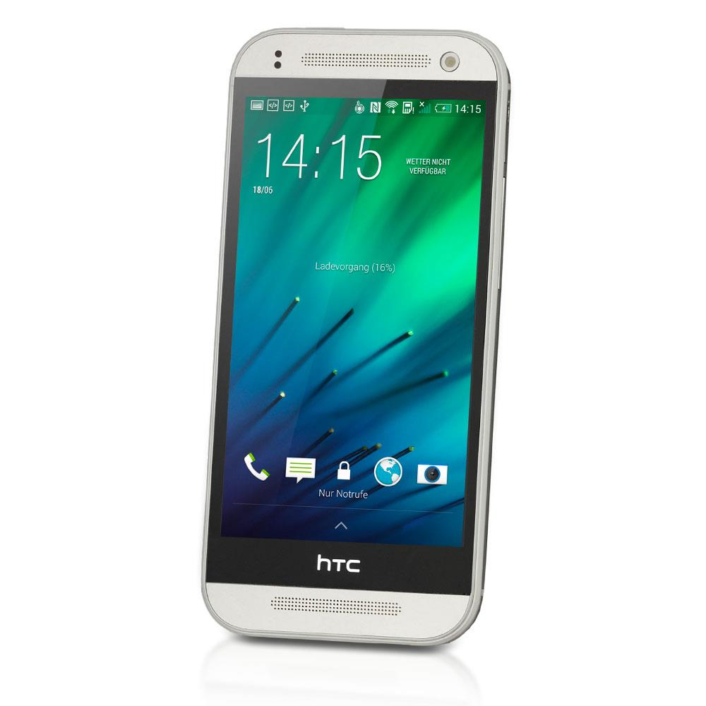 htc one mini 2 gebraucht tsb1 smartphone 16 gb silber. Black Bedroom Furniture Sets. Home Design Ideas
