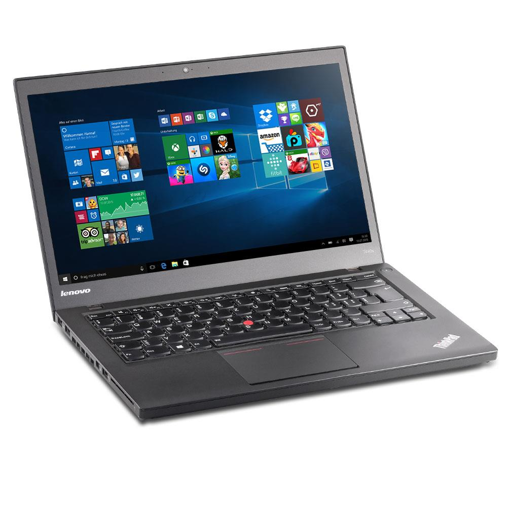 lenovo thinkpad t440s i7 4600u 2 1ghz 12gb 256gb ssd hd720. Black Bedroom Furniture Sets. Home Design Ideas