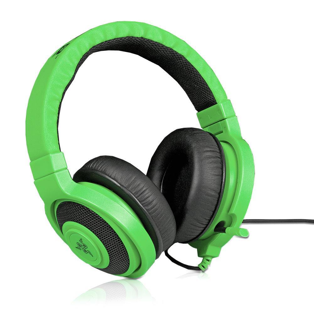 razer kraken pro green headset kabelgebunden 3 5mm klinke 50 mw 32 ohm inkl verl ngerungskabel. Black Bedroom Furniture Sets. Home Design Ideas