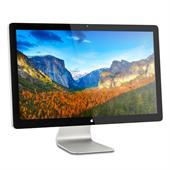 "Apple Thunderbolt Display  68,6cm (27"") TFT (MC914LL/A, LED, WQHD, IPS, Thunderbolt, RJ-45, USB) Sil"
