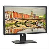 "Dell Professional P2412H 61,0cm (24"") TFT-Monitor (LED, FULL HD, 5ms, Pivot, DVI-D + VGA + USB) Schw"
