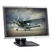 "HP LA2405wg 61cm (24"") TFT-Monitor (WUXGA 1920x1200, Pivot, DP + DVI-D + VGA) Schwarz/Silber"
