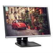 """HP Compaq LA2405x LED 61,0cm (24"""") TFT-Monitor (WUXGA, 5ms, Pivot, DP + DVI-D + VGA) Schwarz/Silber"""