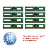 IBM 41Y2770 16 GB DDR2-SDRAM Kit (8x 2 GB, DIMM, PC2-5300 667 MHz, CL5, ECC, registered)