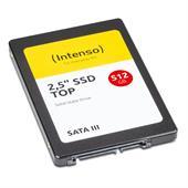 "Intenso 2,5"" SSD TOP 512GB SSD Festplatte 6,4cm (2,5""), P/N: 3812450, Lesen 520MB/s., Schreiben 500M"