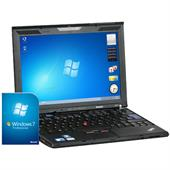 "Lenovo ThinkPad X201 30,7cm (12,1"") Notebook (i5 2.4GHz, 4GB, 320GB, WLAN, BT, CAM, 9 Zellen) + Win"