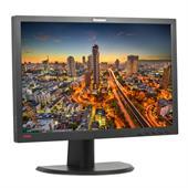 """Lenovo ThinkVision L2440p 61,0cm (24"""") TFT-Monitor (WUXGA 1920x1200, Pivot, DVI-D + VGA + USB) Schwa"""
