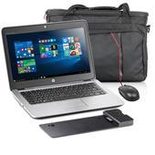 SPARPAKET HP 820 G3 + Docking + Netzteil+ Tasche + Maus + Win 10