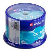 Verbatim 0704-03 CD-Rohlinge 52x 50er Spindel