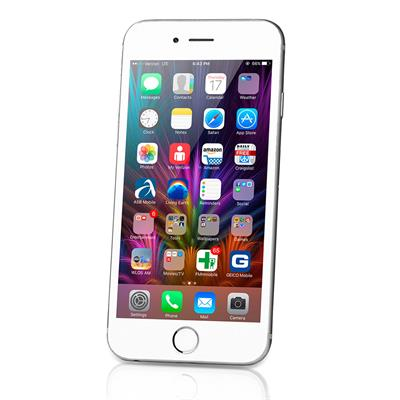 apple iphone 6 smartphone p n mg482zd a 16gb silber. Black Bedroom Furniture Sets. Home Design Ideas