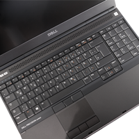 Dell Precision M4800 mit Webcam ohne FP mit TR mit Akku deutsch orange Tastatur Icons