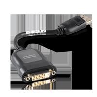 Foxconn DisplayPort auf DVI-D Adapter schwarz