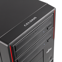 Fujitsu Celsius W420 zwei Laufwerke