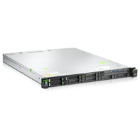 Fujitsu Primergy RX100 S8 Server drei Laufwerke mit DVD