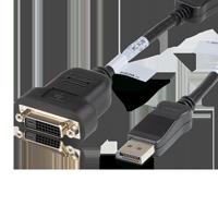 HP 481409-002 DisplayPort auf DVI-D Adapter schwarz