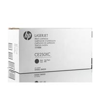 HP CE250XC Toner Schwarz – Verpackung weiß
