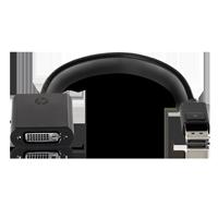HP Displayport auf DVI-D Adapter FH973AA