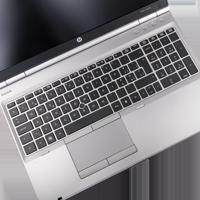 HP Elitebook 8560p ohne Webcam ohne FP mit Akku schweizerisch deutsch