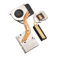 HP Lüfter mit Kühlkörper 735374-001 inkl. Heatpipe