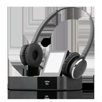 Jabra PRO 9460 Flex Duo Wireless DECT Headset inklusive Basisstation mit Touchdisplay